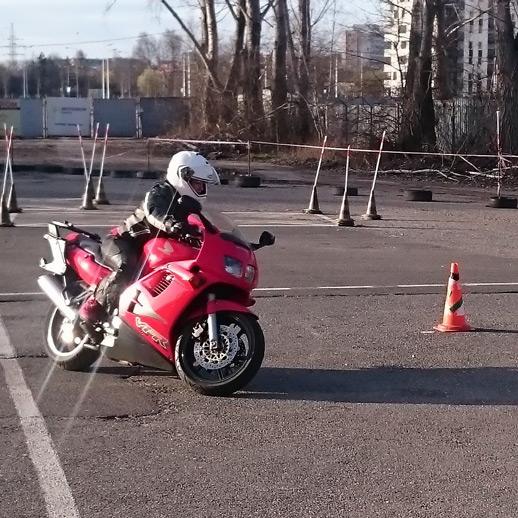 Doszkolenie motocykl